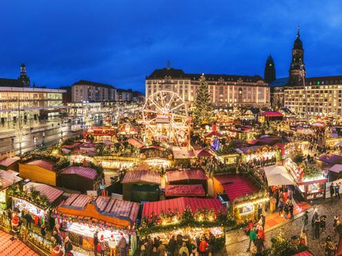ドイツのクリスマスマーケットツアー|海外旅行のSTW