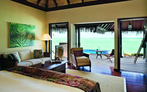 The Rehendi Presidential Overwater Suite with Pool