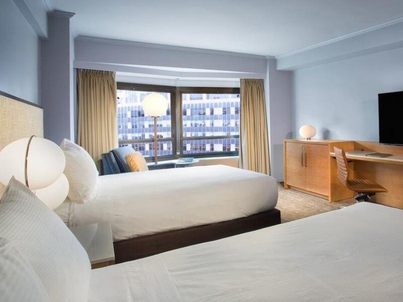 初めてのニューヨークでも間違いないホテルで過ごす