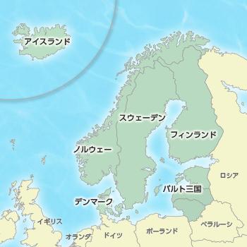 バルト三国の地図-ラトビアの地方図 ...