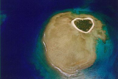タバルア島ヘリコプター遊覧飛行