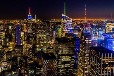 【ニューヨーク発】3大夜景 マンハッタン満喫ツアー