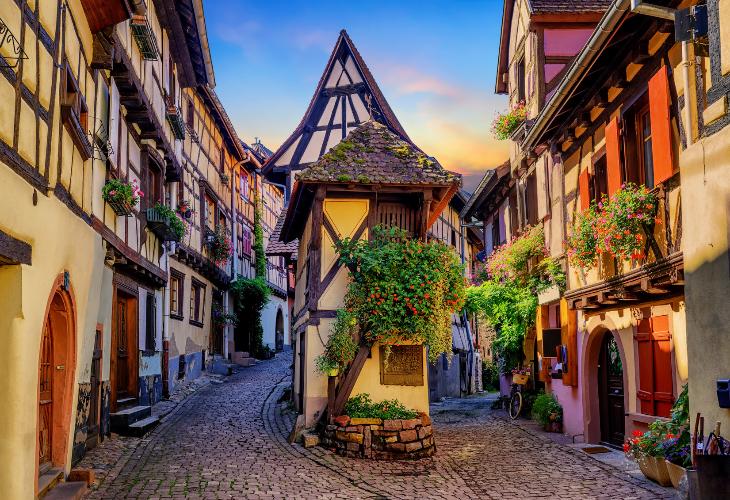 <パリ発>アルザスの小さなかわいい村巡り日帰りツアー