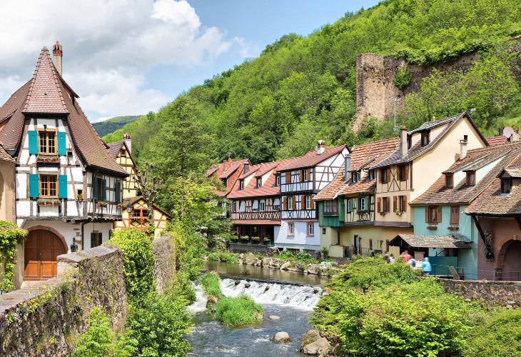<パリ発>アルザスの小さなかわいい村巡り1泊2日の宿泊ツアー